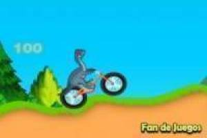 Free Dinosaur bike Game