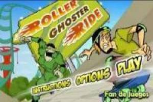 Roller ghoster ride: scooby doo