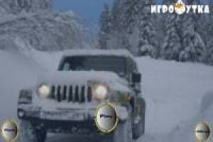 Drive your Jeep uphill