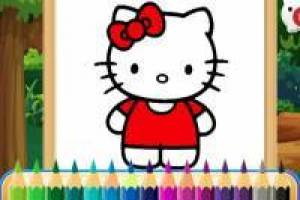 Hello Kitty: Álbum para colorear