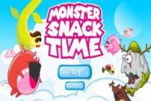 Snack time for crazy monsters