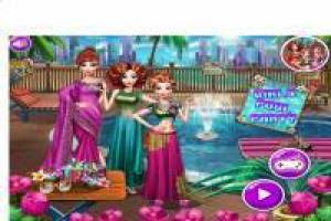 Princesses: Elegant Hindu Party