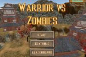 Warrior against Zombie
