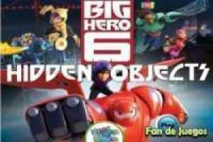 Big hero 6 hidden object