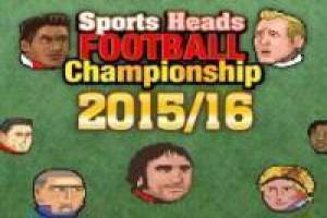 Free Sports Heads Football Champions 2015/16 Game