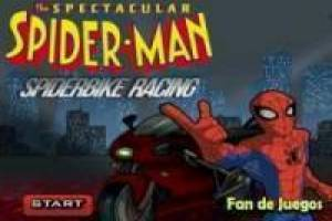 Free Spiderbike racing Game