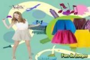 Free Dress up Violetta Game