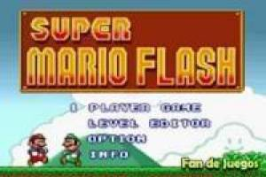 Free Super Mario flash Game