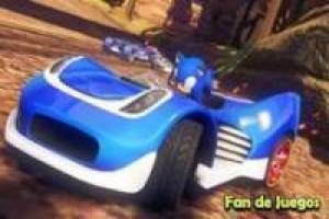 Free Sonic racer Game