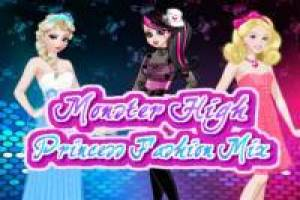 Barbie, Elsa und Draculaura: Fashion Challenge