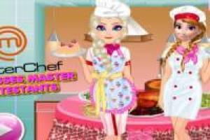 Elsa and Anna: MasterChef