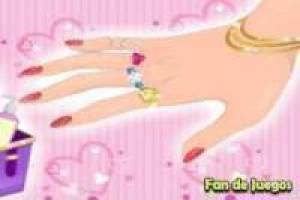 Barbie manicure