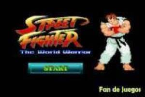 Street Fighter wereld Warrior