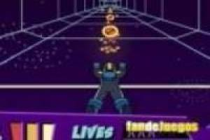 Megaman in the time tunnel