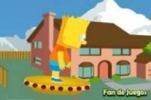 Juego Bart simpsons vs zombies Gratis