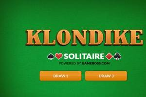 Klondike Solitaire 2020 game