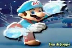 Free Mario on the island frost Game