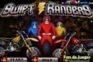 Бесплатно мотоцикл Power Rangers Играть