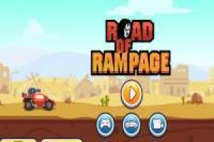 Lucha de Coches: Road of Rampage