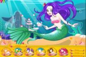 The Little Mermaid: hairstyle and color