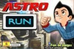 Free Astro boy run Game