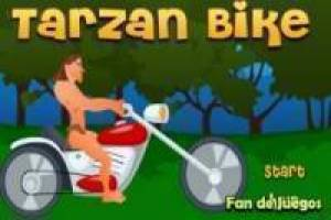 Tarzan chopper motorcycle