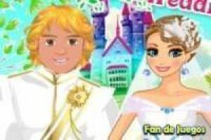 The wedding of anna and kristoff