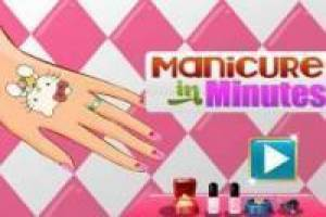 Manicures in minutes