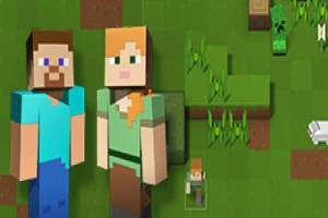 Minecraft Adventure Running
