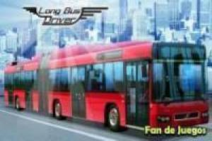 Articulated bus driver