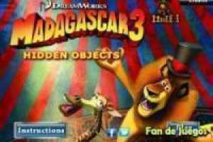 Madagascar 3: escondido objeto