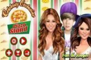 Free Famous also eat pizza Game