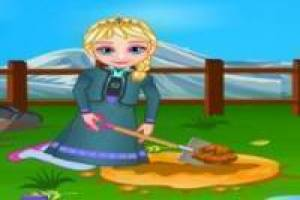 Free Frozen: the garden of elsa Game