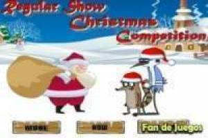 Regular Show vs santa claus
