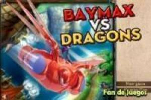 Big Hero 6, Baymax vs drager