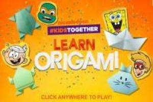 Learn Origami with Nickelodeon