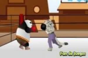 Panda vs tai lung boxeo