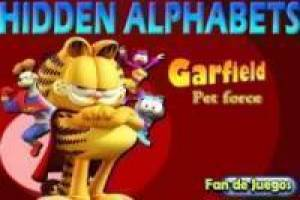 Garfield hidden letters