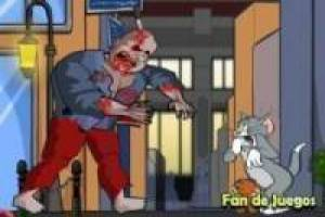Tom and Jerry escapes the zombies