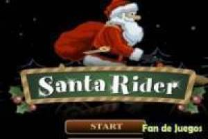Free Santa Claus on a motorcycle Game