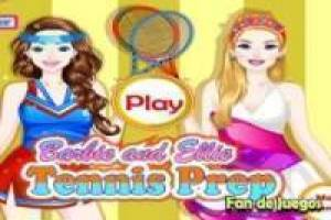 Free Barbie dress: tennis Game