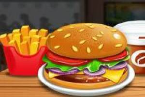 Burger shop online