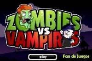 Zombies vs vampyrer