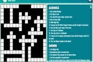 Funny Crossword