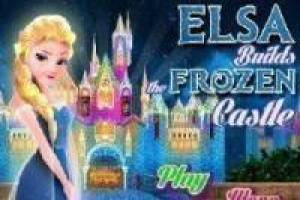 Free Castle built Elsa Frozen Game