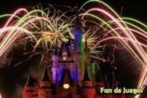 Feux d'artifice disney
