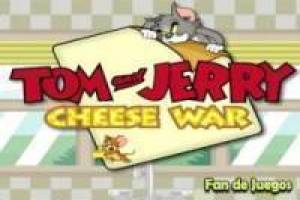 Tom and Jerry in search of cheese
