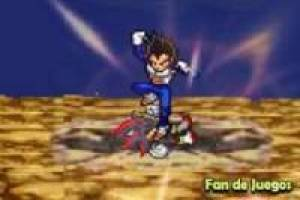 Shadow vs Vegeta: animatie
