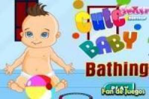 Free Bathe a baby Game