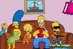 Juego The simpsons bart rampage Gratis